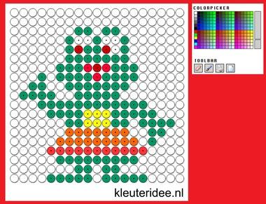 Kralenplank op kleuteridee.nl