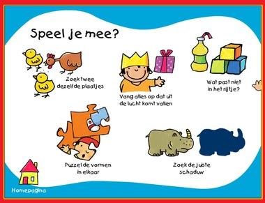 Allerlei spelletjes voor kinderen op kleuteridee.nl