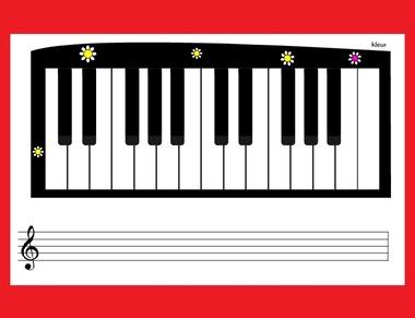 Online piano op kleuteridee.nl