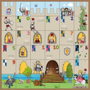 Bee-Bot mat kasteel, ridders en kastelen, kleuteridee