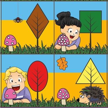 BeeBotmat herfst deelvoorbeeld