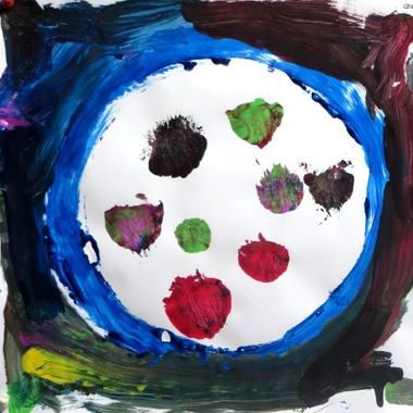 De stip, thema kunst voor kleuters, kleuteridee.nl , Art theme preschool.7