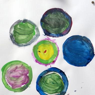 De stip, thema kunst voor kleuters, kleuteridee.nl , Art theme preschool.2