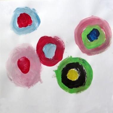 De stip, thema kunst voor kleuters, kleuteridee.nl , Art theme preschool.6