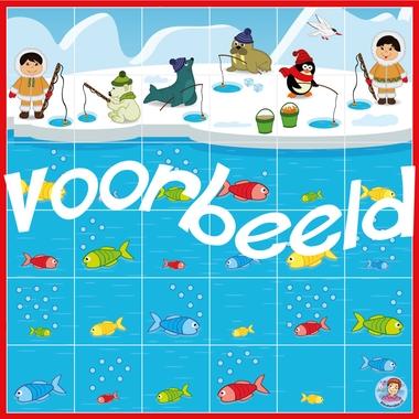 Bee-Bot mat Noordpool en Zuidpool, kleuteridee voorbeeld k