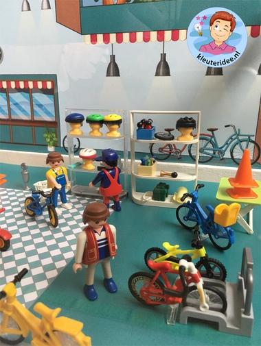 Thematafel de fiets, kleuteridee 2