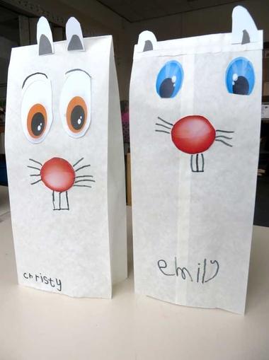 Poolhaas 1, kleuteridee.nl , thema Noordpool & Zuidpool voor kleuters , op de website een werkblad met ogen en neus