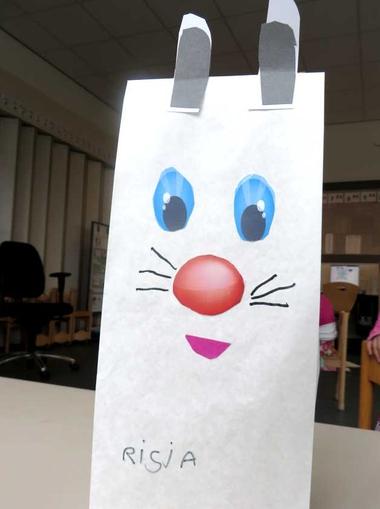 Poolhaas 2, kleuteridee.nl , thema Noordpool & Zuidpool voor kleuters , op de website een werkblad met ogen en neus