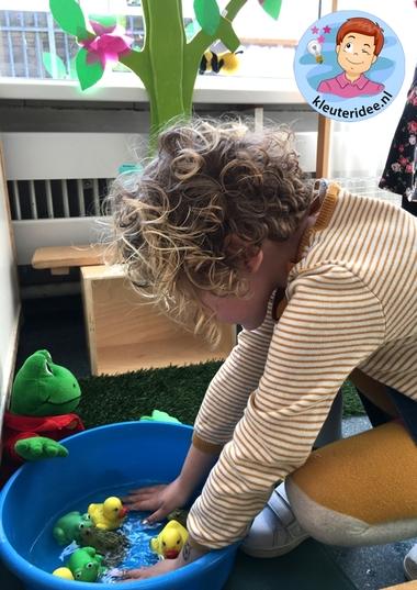 themahoek lente voor kleuters 5, Spring theme center kindergarten, kleuteridee