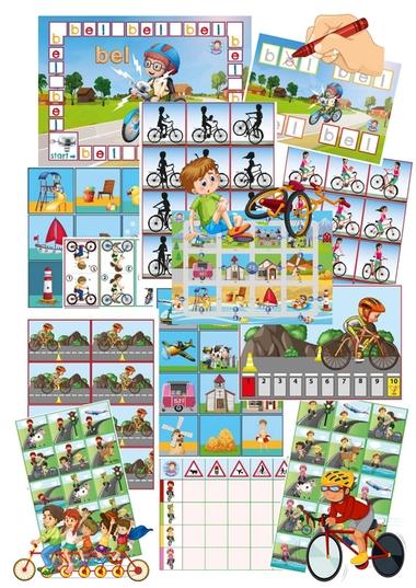 spellenpakket thema de fiets, kleuteridee