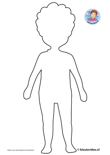 Jongen uit Afrika knutselen, kleuteridee, free printable craft Africa boy, kindergarten and preschool 2.
