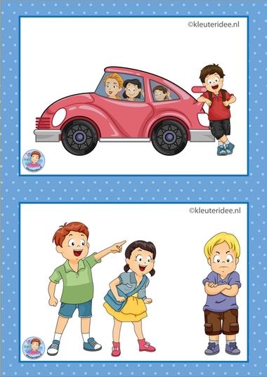 11 Excursie en Sova. 32 dagritmekaarten voor kleuters, juf Petra kleuteridee / Preschool schedule cards