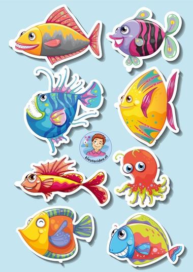Vissen voor rekenen, kleuteridee 3