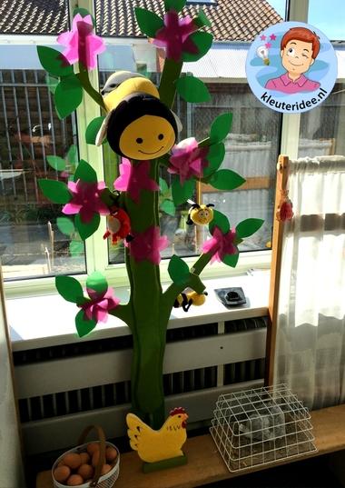 themahoek lente voor kleuters 3, Spring theme center kindergarten, kleuteridee