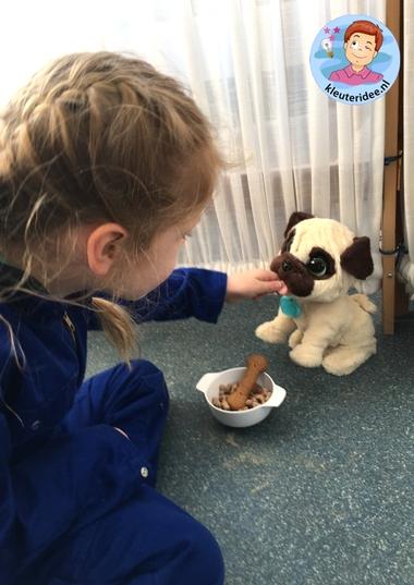 hondenasiel en onderzoekscenrum, thema de hond, Kindergarten dog roleplay, kleuteridee.nl 6