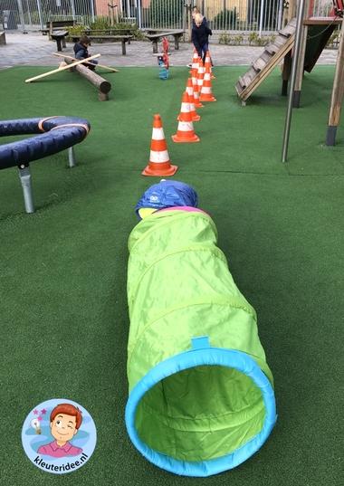 hondenschool, rollenspel met kleuters, thema de hond, Kindergarten dog agility roleplay, kleuteridee.nl 6