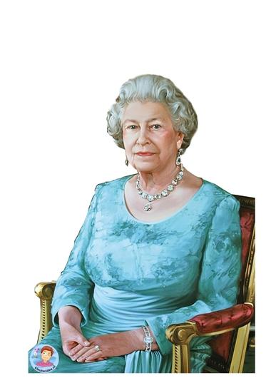 Koningin Elizabeth knutselen met kleuters 3, thema Engeland , Queen Elizabeth craft kindergarten, kleuteridee