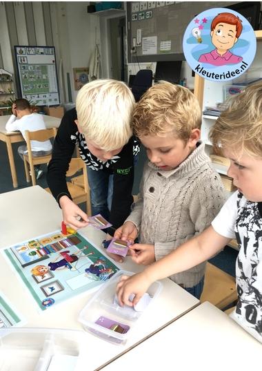 Spellen, thema huishouden, kleuteridee, kindergarten housekeeper games