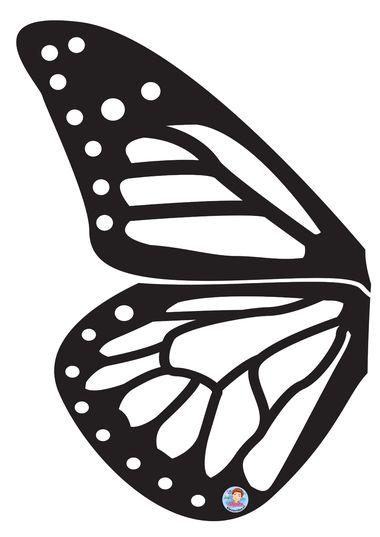 vleugels voor vlinders, kleuteridee