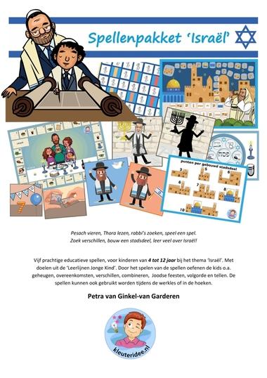 Spellenpakket Israël voor kinderen van 4-12 jaar, kleuteridee