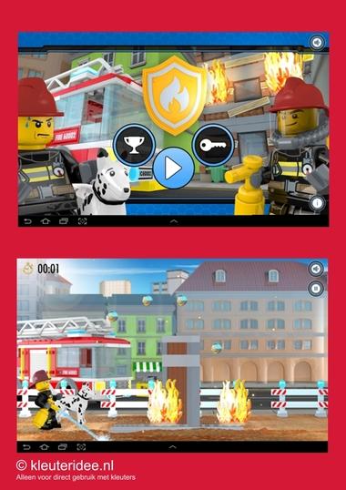 Brandweerapp lego city voor kleuters 1, kleuteridee