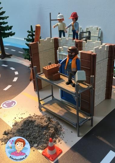 vloermat bouwplaats kinderspeelmat