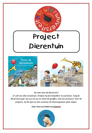 Project dierentuin, Petra van Ginkel