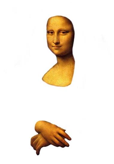 Mona Lisa, thema kunst voor kleuters, kleuteridee.nl , Art theme preschool 6