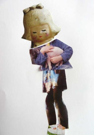 Tijdschriftcollage, thema kunst voor kleuters, kleuteridee.nl , Art theme preschool 4