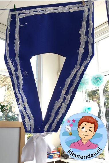 Matrozenkraag knutselen 3, kleuteridee, kindergarten sailor collar craft g