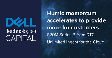 Humio momentum is accelerated to provide more innovation, more products, and more value for customers