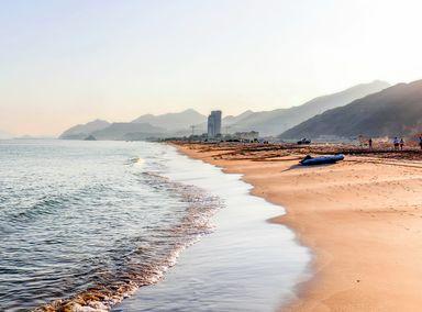 Fujairah Beach in the United Arab Emirates