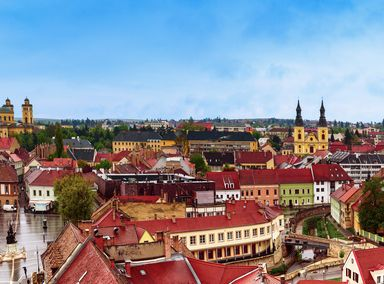 The Hungarian town of Eger