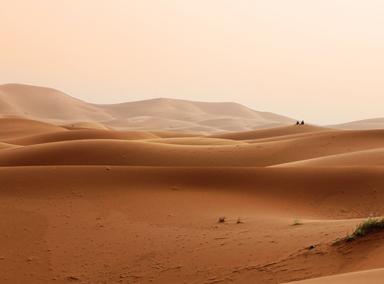 Desert sands in Morocco