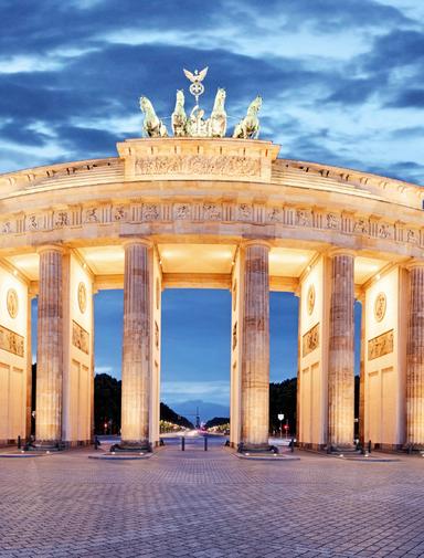 Brandenburg Gate, Berlin,