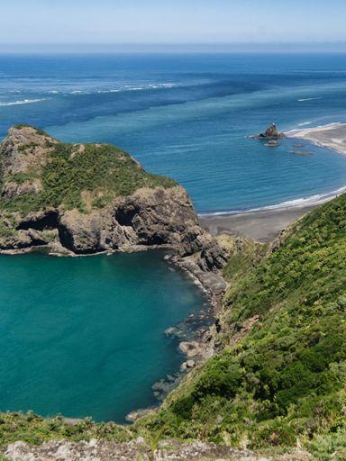 The beautiful, isolated Whatipu Beach