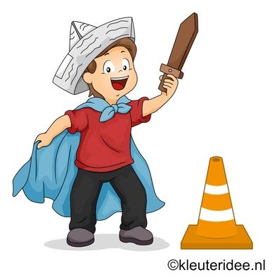 Gymles thema ridders voor kleuters , juf Petra, voor meer kleutergymlessen ga naar de site kleuteridee