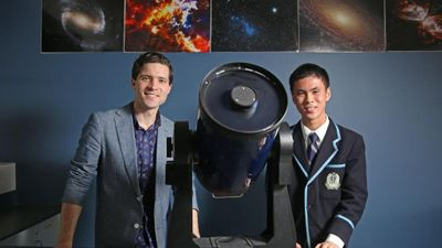 Camberwell Grammar student Henry Wu has founded the Australian Youth Space Society to inspire space industry