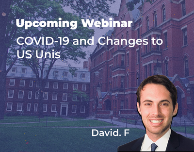 Webinar COVID 19 and Changes To US Unis