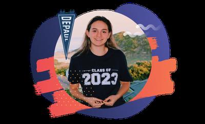 DePaul University student Alyssa