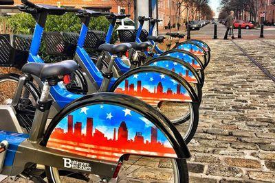John Hopkins Bike