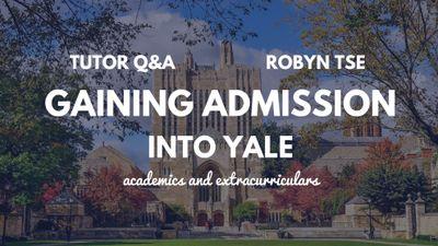 Robyn Tse Yale