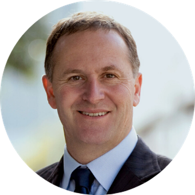 Sir. John Key, GNZM AC