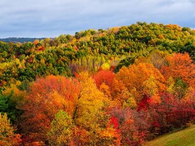 Autumn colors in Hocking Hills, Ohio