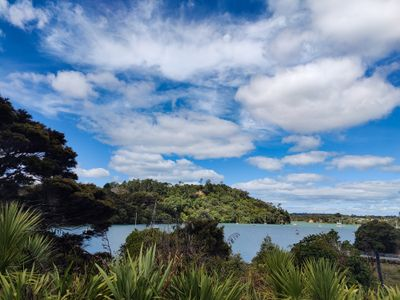 The harbour in Hobsonville Point, Auckland