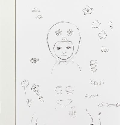 Collection of sketches, Studio 2021 by Satoru Koizumi - detail shot