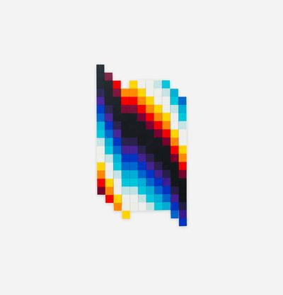 Panels in various colour shades, Chromadynamica Variable (Color) by Felipe Pantone