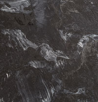 Black mountain landscape, Nevertheless #20 by Conrad Jon Godly - detail shot