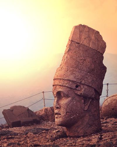 Head of a statue on Nemrut