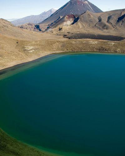 The Blue Lake in Tongariro National Park